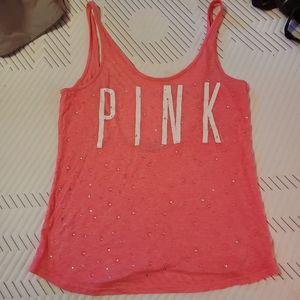 Victoria's secret pink tank